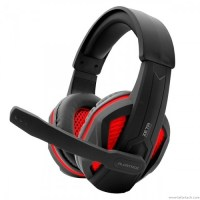 Alcatroz Zeta MG550i Stereo Gaming Headset (Black Red)-700x700