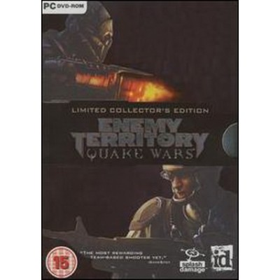 Enemy Territory: Quake Wars Collector's Ed PC NEW