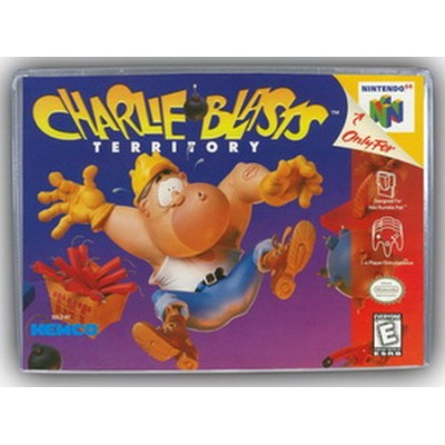 Charlie Blasts: Territory N64 NEW (Nortec Seal)
