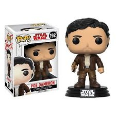 POP! Star Wars Ep. 8 The last Jedi - Poe Dameron #192 Vinyl Bobble-Head Figure