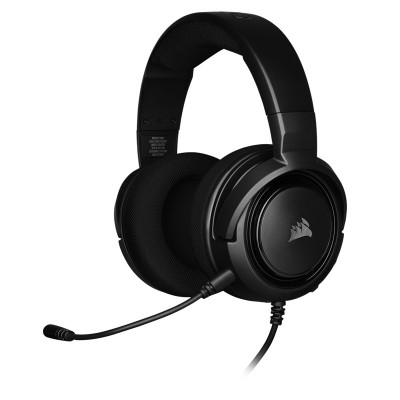 Corsair Gaming Headset Wired HS35 Carbon  ( P.N CA-9011195-EU )