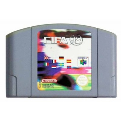 FIFA 98 N64 UNBOXED