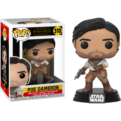 POP! Star Wars Ep 9 - Poe Dameron #310 Vinyl Figure