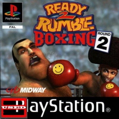 Ready to Rumble Boxing 2 PSX USED (No Cover/Unofficial Case)