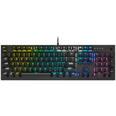 Gaming Keyboard Corsair K60 PRO RGB Mechanical CherryMX LowProfile Speed GR/EN (CH-910D018-GR2)