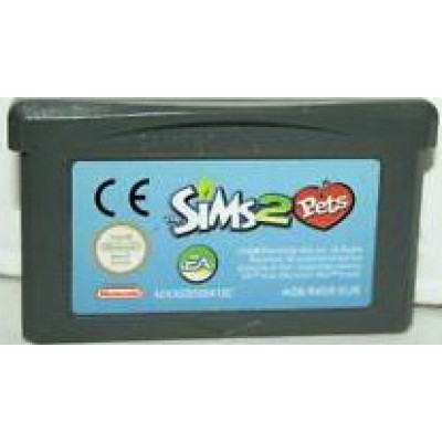 The Sims 2 Pets GameBoy Advance UNBOXED