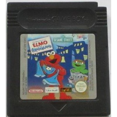The Adventures of Elmo in Grouchland GameBoy UNBOXED
