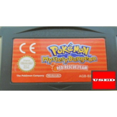Pokemon Mystery Dungeon : Red Rescue Team GameBoy Advance UNBOXED