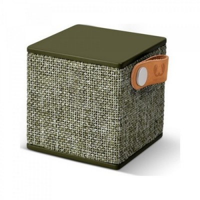 Fresh N Rebel Rockbox Cube Fabriq Edition Bluetooth Speaker Army