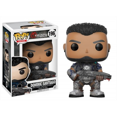 POP! Gears Of War - Dominic Santiago #196 Vinyl Figure