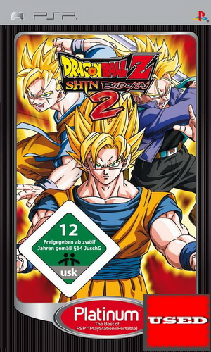 Video Games : Dragon Ball Z: Shin Budokai 2 (Platinum) PSP
