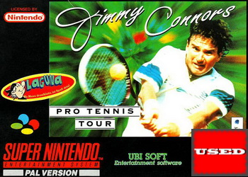 Jimmy Connors Pro Tennis Tour SNES USED (NTSC)