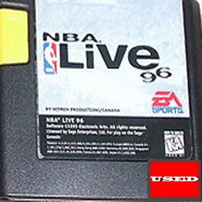 NBA Live 96 MD UNBOXED