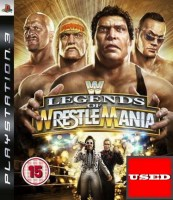 Legends of Wrestlemania PS3 USED