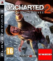 Uncharted 2: Among Thieves PS3 USED