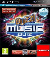 Buzz! Ultimate Music Quiz (Χωρίς Buzzers) PS3 USED