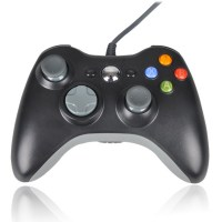 Wired Controller Black For X360 NEW (Unofficial)