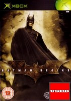 Batman Begins XBOX USED