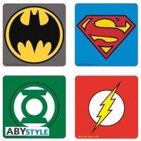 dc-comics-4-coasters-emblem-set
