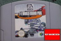 F-1 World Grand Prix N64 USED (Cartridge Only)