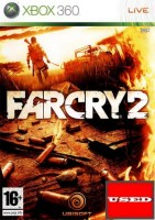 Far Cry 2 X360 USED (NO COVER)
