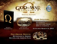 God of War: Ascension (Special Ed.) PS3 NEW