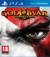 God Of War III Remastered PS4 NEW