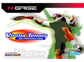 Virtua Tennis NGAGE NEW