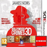 James Noir's Hollywood Crimes 3DS USED