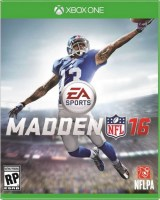 MADDEN NFL 16 XBOX ONE NEW