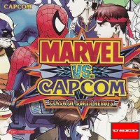 Marvel vs. Capcom: Clash of Super Heroes DC USED