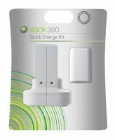 Microsoft Xbox 360 Quick Charge Kit White