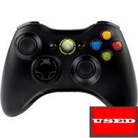 Microsoft Xbox 360 Wireless Controller Black USED