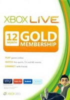 Microsoft Xbox Live 12 Month Gold Card (Code Only) (Δωρεάν Αποστ