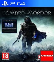 Middle Earth Shadow of Mordor PS4 USED