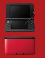 Nintendo 3DS XL Black + Red USED