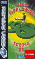 Sega Worldwide Soccer '98 SATURN USED