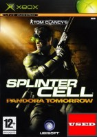 Splinter Cell Pandora Tomorrow XBOX USED (NO MANUAL)