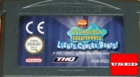 Spongebob : Lights Camera Pants! GBA UNBOXED