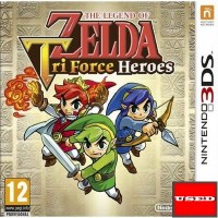 The Legend of Zelda: Tri Force Heroes 3DS USED