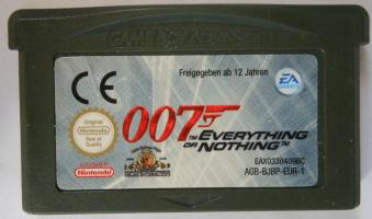 007Everything_NothingGameBoy_AdvanceUNBOXED