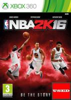 NBA 2K16  X360 USED (No Manual)