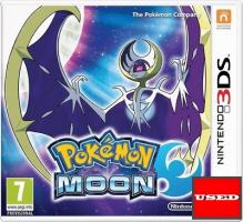 Pokemon Moon (Game+Steelbook) 3DS USED