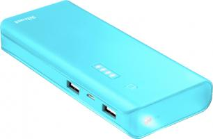 Trust Power Bank Primo Summer 10000mAh Light Blue (22747)