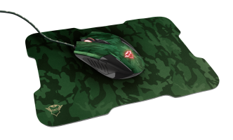 Trust GXT781 RIXA CAMO - Gaming Mouse + Mousepad   23611