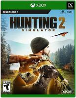 Hunting  Simulator  2   XBOX SERIES  X  NEW