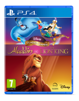 Aladdin &  Lion King PS4  NEW
