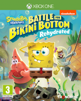 Spongebob Square Pants: Battle for Bikini Bottom - Rehydrated  XONE  NEW