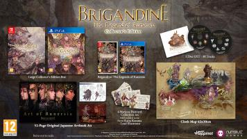Brigandine Collectors Edition  PS4 NEW