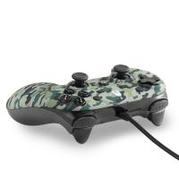 Spartan Gear Oplon Wired Controller  Green Camouflage  PC - PS3